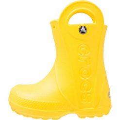 Kalosze damskie: Crocs HANDLE IT RAIN BOOT KIDS Kalosze yellow