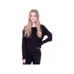 Bluzy damskie: Klasyczna Czarna Bluza BASIC