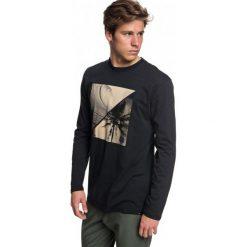 Quiksilver T-Shirt Męski Colonghtls M Tees kvj0 Czarny S. Czarne t-shirty męskie z nadrukiem Quiksilver, m, z bawełny. W wyprzedaży za 99,00 zł.