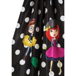 Sukienki dziewczęce: Love Made Love POLKA DOT WITH LITTLE GIRLS Sukienka koktajlowa schwarz/rosa