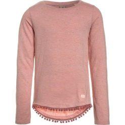 Bluzki dziewczęce bawełniane: Scotch R'Belle LONG SLEEVE WITH POMPOMS Bluzka z długim rękawem dusty rose melange