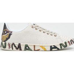 Desigual - Buty. Szare buty sportowe damskie marki Desigual, z materiału. W wyprzedaży za 339,90 zł.