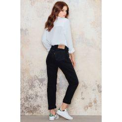 Boyfriendy damskie: NA-KD Vintage Jeansy Vintage 501 Levis - Black