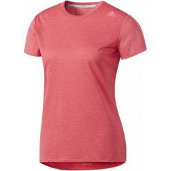Adidas Koszulka Sn Ss Tee W Super Pink S. Różowe bluzki sportowe damskie marki Adidas, s, ze skóry. W wyprzedaży za 117,00 zł.