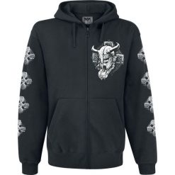 Black Premium by EMP Mask Of Sanity Bluza z kapturem rozpinana czarny. Czarne bluzy męskie rozpinane marki Black Premium by EMP. Za 164,90 zł.