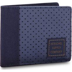 Duży Portfel Męski HERSCHEL - Edward 10365-01829 Peacoat/Army. Niebieskie portfele męskie marki Herschel, z materiału. W wyprzedaży za 129,00 zł.