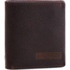 Mały Portfel Męski STRELLSON - Goldhawk 4010002302 Dark Brown 702. Brązowe portfele męskie Strellson, ze skóry. Za 159,00 zł.