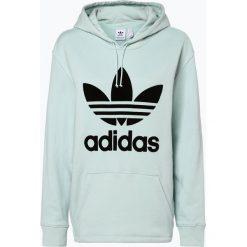 Adidas Originals - Damska bluza nierozpinana, zielony. Szare bluzy z kapturem damskie marki adidas Originals, z gumy. Za 349,95 zł.