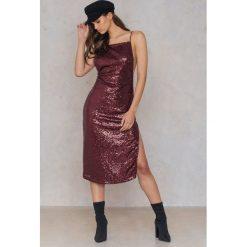 Motel Rocks Sukienka Shura - Red. Różowe sukienki marki Motel Rocks. W wyprzedaży za 97,19 zł.