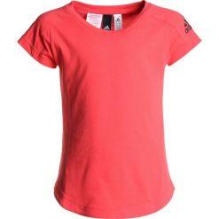 Adidas Performance TEE Tshirt basic reacor/black. Czerwone t-shirty chłopięce marki adidas Performance, m. Za 129,00 zł.