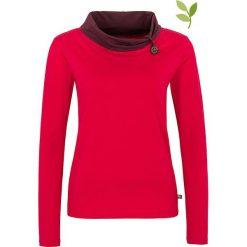 """Bluzki asymetryczne: Koszulka """"Noreen"""" w kolorze różowym"""
