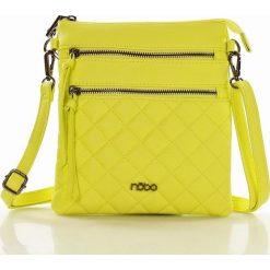 Listonoszki damskie: NOBO Sportowa listonoszka żółty