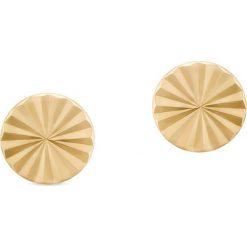 Wyjątkowe Kolczyki Złote - złoto żółte 585 - 2