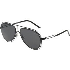 Dolce&Gabbana Okulary przeciwsłoneczne grey. Szare okulary przeciwsłoneczne męskie wayfarery marki Dolce&Gabbana. Za 839,00 zł.