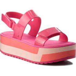 Rzymianki damskie: Sandały ZAXY – Slash Plat Sandal Fem 17525 Pink 90063 AA285087 02064