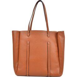 Torebka w kolorze koniaku - (S)42 x (W)33 x (G)12 cm. Brązowe torebki klasyczne damskie Bestsellers bags, z materiału. W wyprzedaży za 299,95 zł.
