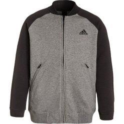 Adidas Performance Bluza rozpinana core heather/black. Szare bluzy dziewczęce rozpinane adidas Performance, z bawełny. W wyprzedaży za 139,30 zł.