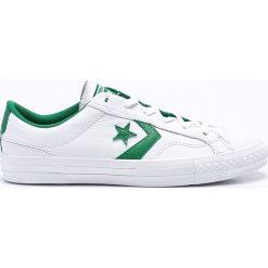 Converse - Buty. Szare buty skate męskie Converse, z materiału, na sznurówki. W wyprzedaży za 259,90 zł.