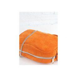 Torebki klasyczne damskie: Skórzana Fabulous #9 pomarańczowa Z/d