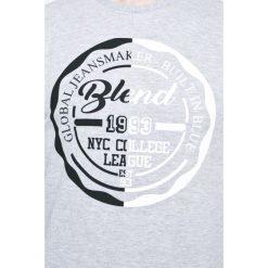 Blend - Bluza. Szare bluzy męskie rozpinane marki Blend, l, z nadrukiem, z bawełny, bez kaptura. W wyprzedaży za 99,90 zł.