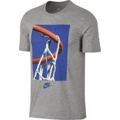 Nike Koszulka Męska Sportswear Tee Verbiage M Szara r. XL - (875713-063). Szare t-shirty męskie Nike, m. Za 89,60 zł.