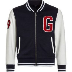 Swetry dziewczęce: GANT VARSITY JACKET Kardigan evening blue