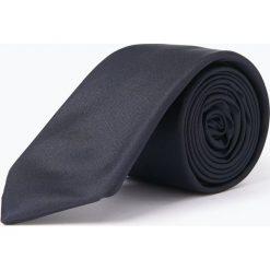 Strellson - Krawat jedwabny męski, niebieski. Niebieskie krawaty męskie Strellson, z jedwabiu. Za 179,95 zł.