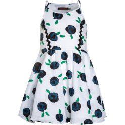 Sukienki dziewczęce: Catimini GRAPHIC CITY ROBE  Sukienka letnia white