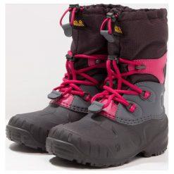 Jack Wolfskin ICELAND PASSAGE Śniegowce azalea red. Szare buty zimowe damskie marki Jack Wolfskin, z materiału. Za 409,00 zł.