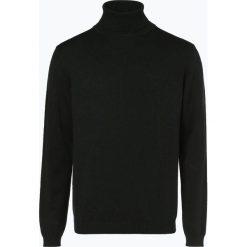 Finshley & Harding - Sweter męski – Pima-Cotton/Kaszmir, zielony. Zielone swetry klasyczne męskie Finshley & Harding, l, z bawełny. Za 249,95 zł.