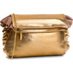 Torebka PATRIZIA PEPE - 8V0259/A4E2-I2UF Dark Gold. Czarne torebki klasyczne damskie marki Patrizia Pepe, ze skóry. W wyprzedaży za 799,00 zł.