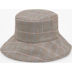 Kapelusz typu bucket hat - Wielobarwn. Szare kapelusze damskie marki Reserved. Za 49,99 zł.