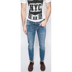 Pepe Jeans - Jeansy Cane. Niebieskie jeansy męskie z dziurami marki Pepe Jeans. W wyprzedaży za 239,90 zł.
