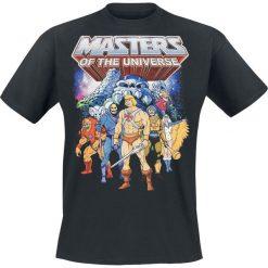 Masters Of The Universe Characters T-Shirt czarny. Czarne t-shirty męskie z nadrukiem Masters Of The Universe, xl, z okrągłym kołnierzem. Za 74,90 zł.