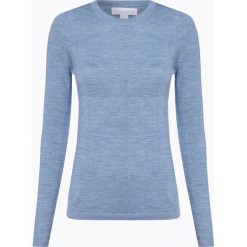 Brookshire - Damski sweter z wełny merino, niebieski. Niebieskie swetry klasyczne damskie brookshire, s, z dzianiny. Za 179,95 zł.