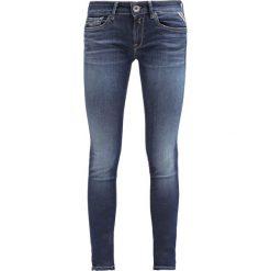Replay HYPERFLEX LUZ Jeans Skinny Fit dark blue. Niebieskie rurki damskie marki Replay. Za 679,00 zł.