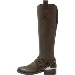 SPM KATY Kowbojki i Buty motocyklowe kaki green. Brązowe buty zimowe damskie marki SPM, z materiału. W wyprzedaży za 408,85 zł.