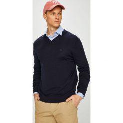 Lacoste - Sweter. Szare swetry klasyczne męskie marki Lacoste, z bawełny. Za 579,90 zł.