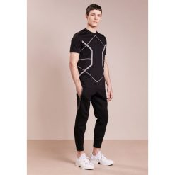 Spodnie męskie: Neil Barrett BLACKBARRETT ELONGATED ZIP  Spodnie treningowe black
