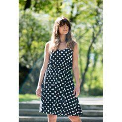 Sukienki: Sukienka Monroe w grochy