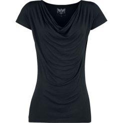 Black Premium by EMP Emma Koszulka damska czarny. Czarne bluzki na imprezę Black Premium by EMP, xl, z materiału, eleganckie, z okrągłym kołnierzem. Za 74,90 zł.