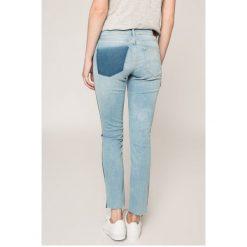 Tommy Jeans - Jeansy Nora. Niebieskie jeansy damskie rurki Tommy Jeans, z bawełny. W wyprzedaży za 339,90 zł.