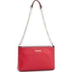 Torebka LOVE MOSCHINO - JC4128PP15L20500  Rosso. Czerwone torebki klasyczne damskie marki Love Moschino, ze skóry. W wyprzedaży za 529,00 zł.