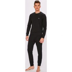 Emporio Armani - Piżama. Czarne piżamy męskie marki Emporio Armani, l, z bawełny. Za 439,90 zł.