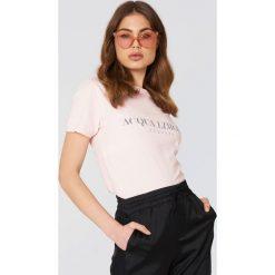 T-shirty męskie z nadrukiem: Acqua Limone T-shirt Classic – Pink