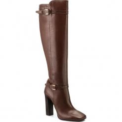 Kozaki GINO ROSSI - Ann DKG564-L45-EC00-3700-F 92. Czarne buty zimowe damskie marki Kazar, ze skóry, na wysokim obcasie. W wyprzedaży za 439,00 zł.