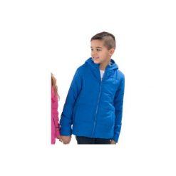 Kurtka chłopięca przejściowa, Z KIESZENIAMI, zapinana na zamek z przeszyciami, z kapturem. Niebieskie kurtki chłopięce przejściowe marki TXM, z kapturem. Za 19,99 zł.