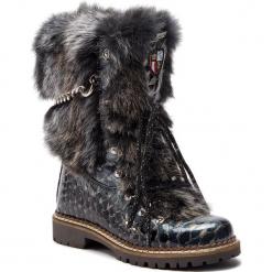 Kozaki NEW ITALIA SHOES - 1915400B/5 Black. Czarne kowbojki damskie New Italia Shoes, z lakierowanej skóry. Za 1839,00 zł.