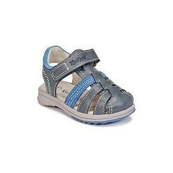 Sandały Dziecko  Kickers  PLATINIUM. Niebieskie sandały chłopięce Kickers. Za 207,20 zł.