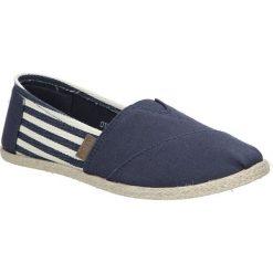 Granatowe buty tomsy espadryle w paski Mckey DTN173/17NV. Szare tomsy damskie marki Mckey, w paski. Za 28,99 zł.